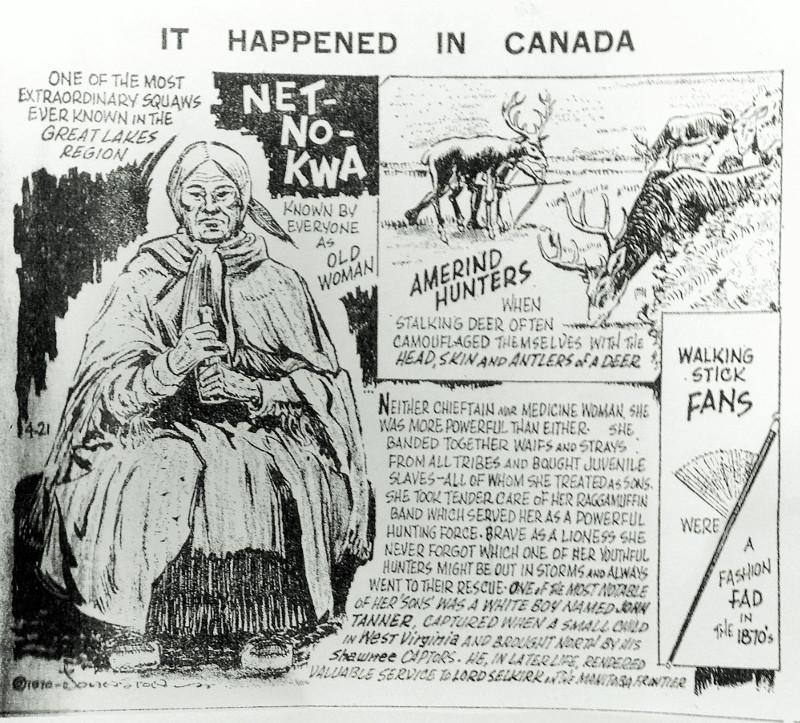 It happened in Canada newspaper clipping.